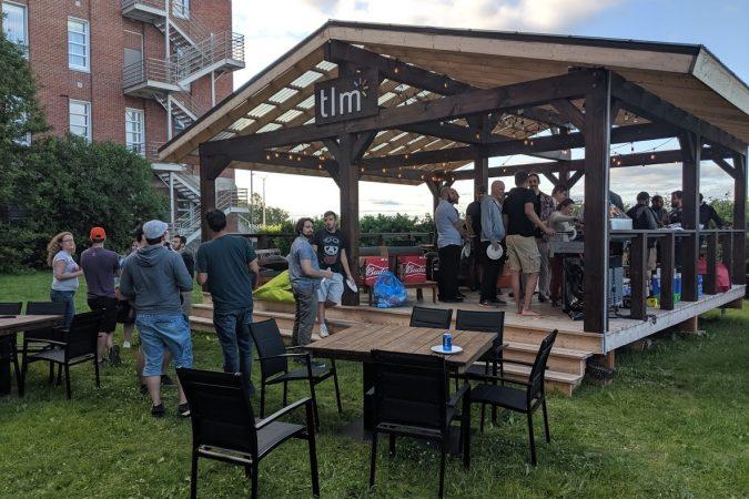 Party du Saglac IO sur notre terrasse !