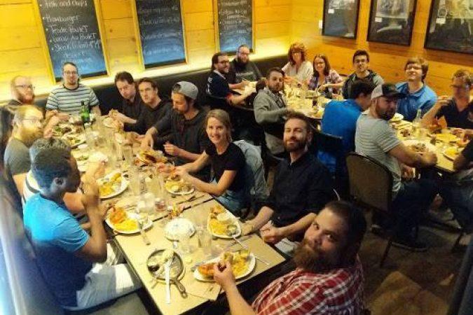 Un dîner entre ninjas !